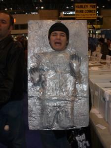 Low budget carbonite freezing...