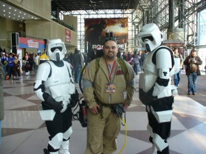 Ghostbusters AND Stormtroopers