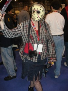 Run for your life! It's Jason Voorhees!