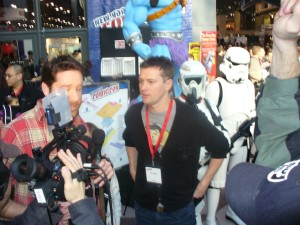 FANBOYS director Kyle Newman gets interviewed