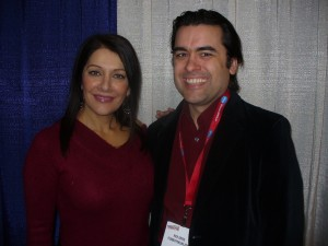 FilmBuff Publisher tries to coozy up to STAR TREK's Marina Sirtis