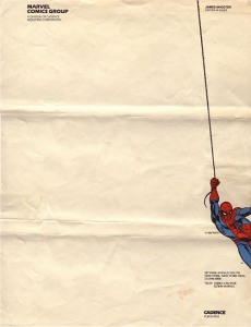 spider-man-letterhead