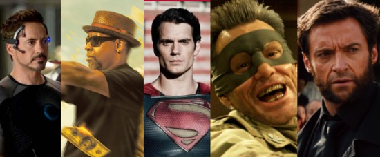 year in comic films 2013