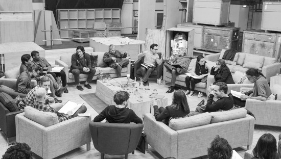 STAR WARS VIII Cast Table Read