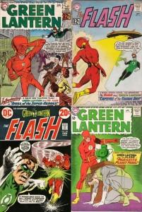 gl and flash comics