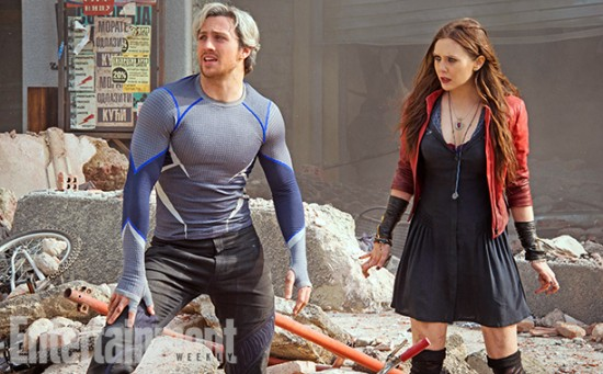 Avengers 2 quicksilver scarlet witch