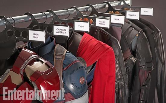 Avengers 2 wardrobe