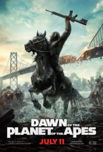 dawn of the planet ofthe apes poster