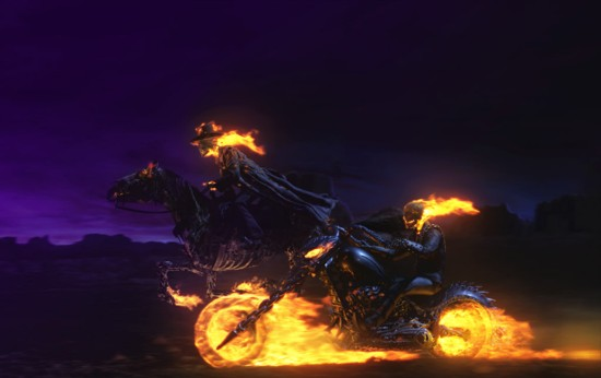 new and old ghost rider