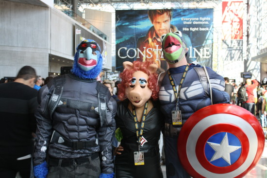 Some people were afraid this would happen after Disney bought both the Muppets and Marvel...