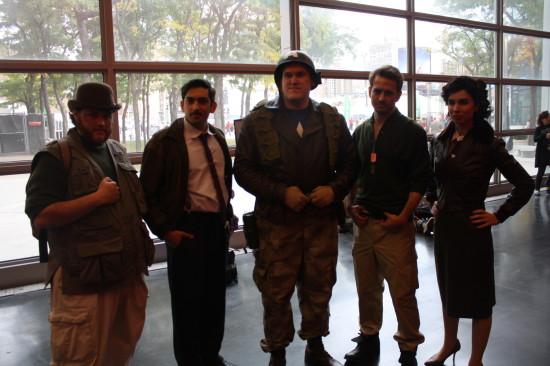 Cap and his crew.