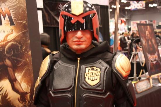 Judge Dredd is here to enforce fun.