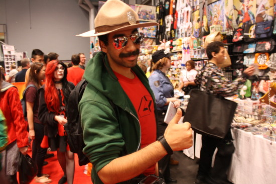Even Supertroopers like to hang out at Comic Con