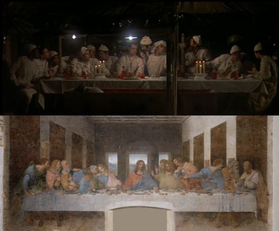 MASH Last Supper compared