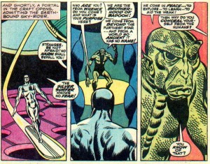 badoon first appearance