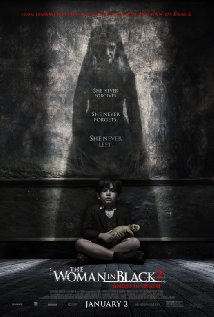 woman in black 2 poster