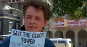 BTTF Clock Tower Flyer