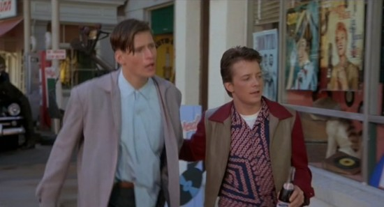BTTF Marty and Dad