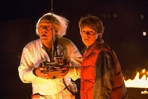 BTTF Marty and Doc