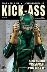History of the comic book film kick-ass comic cover