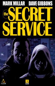 History of the comic book film secret service comic cover