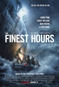 New releases the finest hours poster
