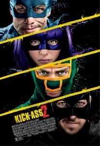 history of the comic book film Kick-Ass 2 International Poster