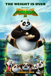 new releases kung fu panda 3 poster