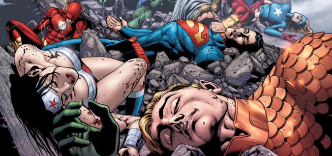 DC CINEMATIC UNIVERSE JLA defeated