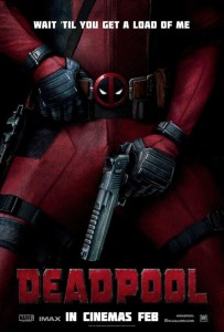 New Releases Deadpool poster