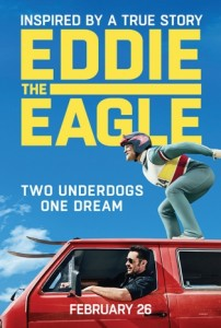 new releases eddie the eagle poster