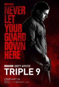 new releases triple 9 poster