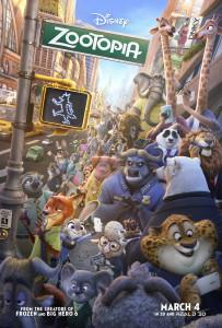 New Releases Zootopia poster