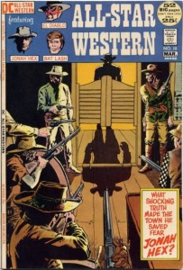 history of the comic book film jonah hex first apperance