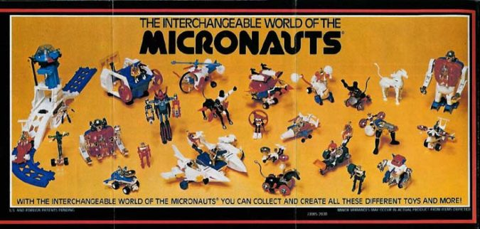 Hasbro Cinematic Universe  Micronauts