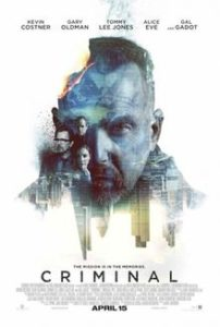 New Release Criminal Poster