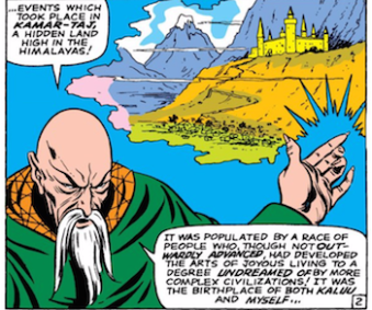 Doctor Strange Ancient One Origin