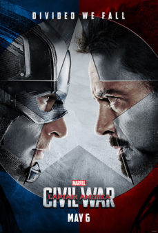 New Releases Captain America Civil War poster