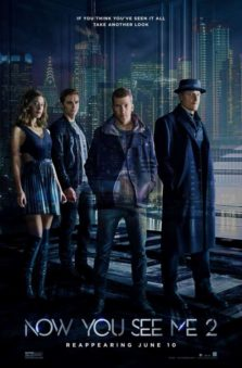 New Releases now you see me two poster