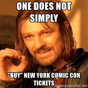 New York Comic Con meme