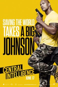 new releases central intelligence poster