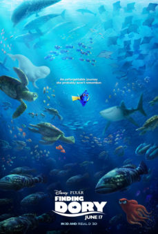 new releases finding dory poster