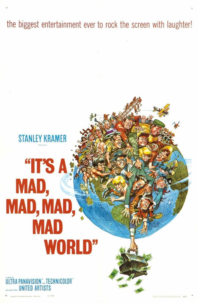 Jack Davis Its a mad,mad,mad,mad world.
