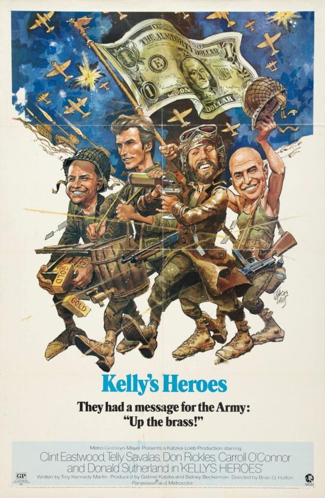 Jack Davis kellys heroes 1970
