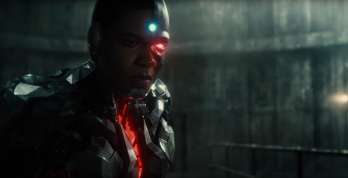 Justice League Cyborg in costume