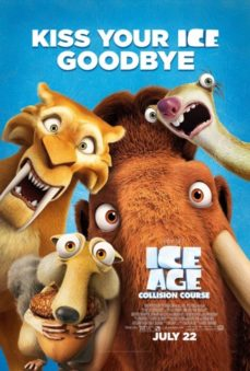 New Relases Ice Age Collision Course Poster