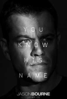 New Releases Jason Bourne poster