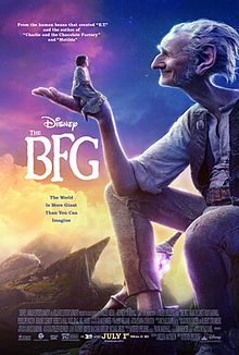 New Releases The BFG poster