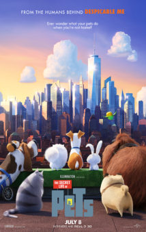 New Releases The Secret Life of Pets poster