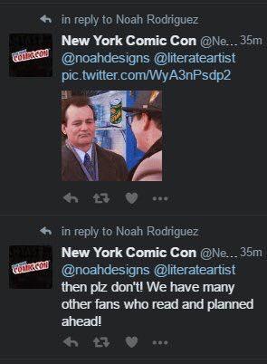 New York Comic Con fake NYCC